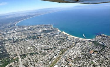 Santa Cruz aerial Panorama June 2015
