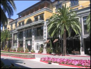 Santana Row in West San Jose