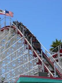 Boardwalk Roller Coaster Ride