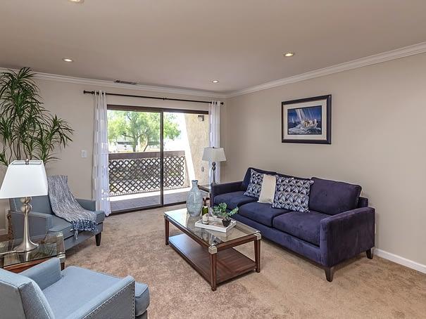 Living room at 39887 Cedar Blvd # 250, Newark CA