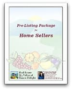 Pre-listing package for home sellers (by Mary Pope-Handy)