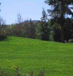 Almaden Golf Course View with Mount Umunhum in the distance