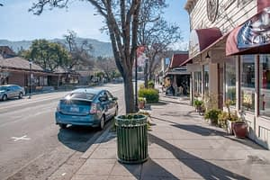 Saratoga Village - a Silicon Valley relocation magnet for its good schools, charming village, and scenic beauty