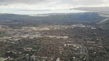 View over San Jose looking east taken January 2019