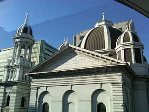 St. Joseph Cathedral Basilica in downtown San Jose