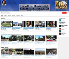 Mary Pope-Handy YouTube Channel & Los Gatos videos