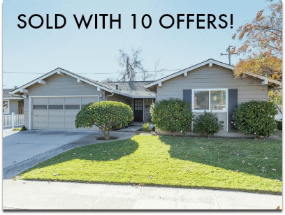 Sold With 10 Offers! 1932 Bernice Way - Cambrian area of San Jose
