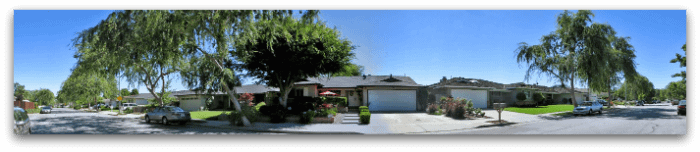 Cameo Park West subdivision street in Campbell - Campbell CA real estate is very popular within Silicon Valey!